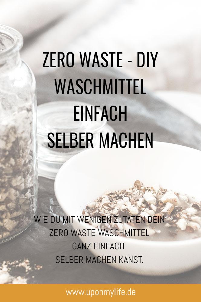 UponMyLife - Zero Waste - DIY - Waschmittel einfach selber machen