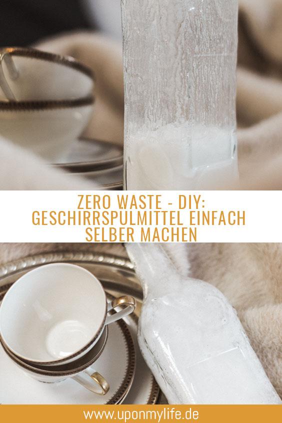 Zero Waste Geschirrspülmittel ganz einfach selber machen
