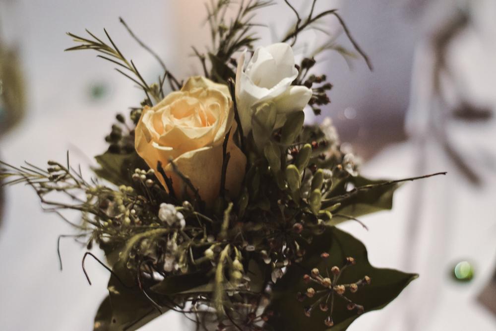 Nachhaltig heiraten Blumenschmuck