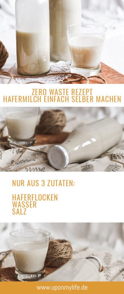 Zero Waste Rezept Hafermilch