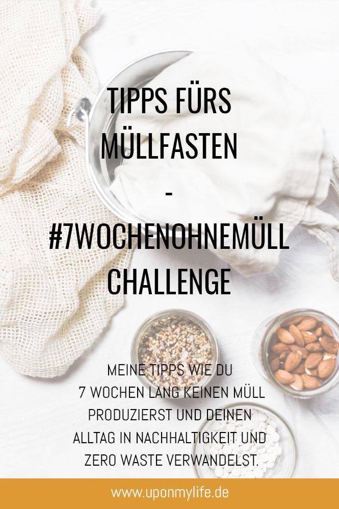7 Wochen ohne Müll Challenge