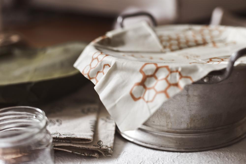 Zero Waste DIY Bienenwachstuch selber machen