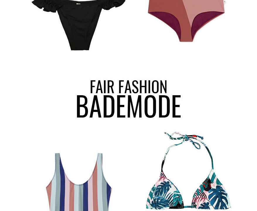 Fair Fashion Bademode Tipps für den Sommer 2019
