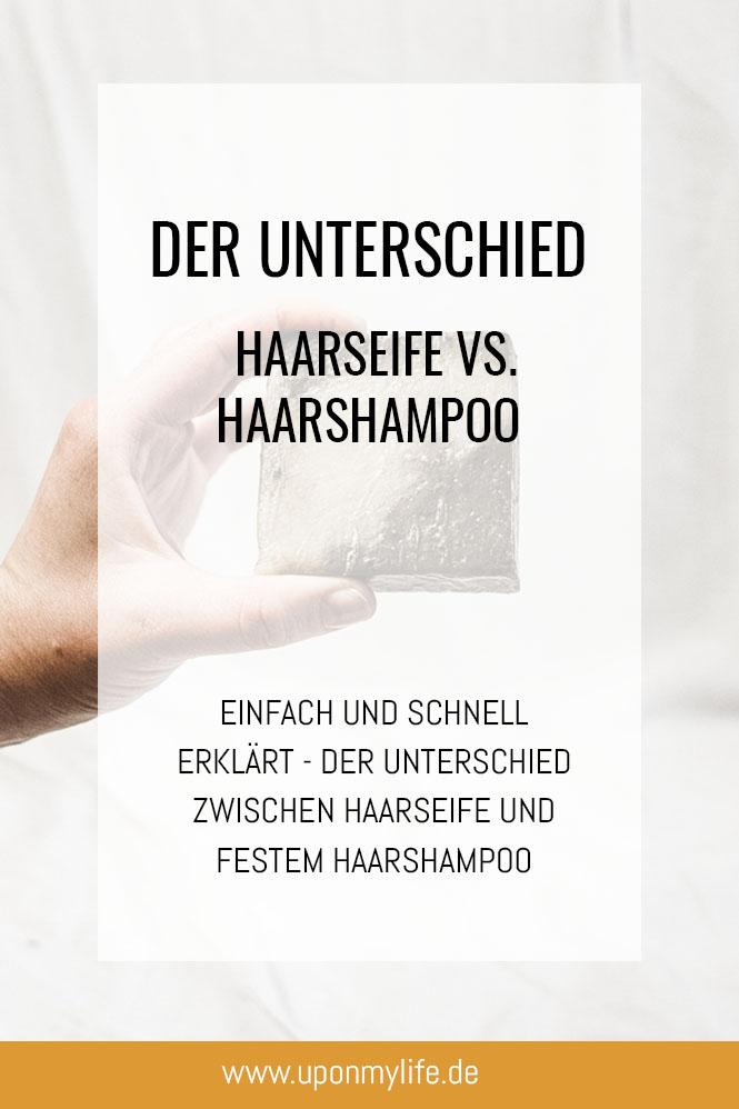 Unterschied zwischen Haarseife und Haarshampoo