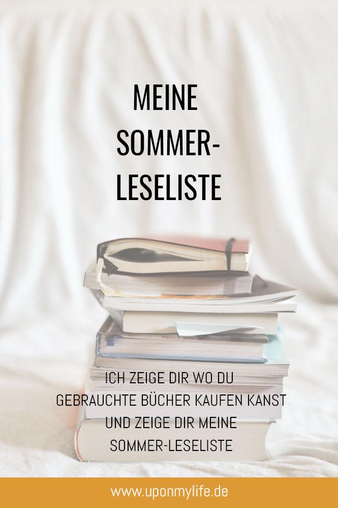 Bücher gebraucht kaufen: Wo du 2ndhand-Bücher finden kannst? & meine Sommer-Leseliste