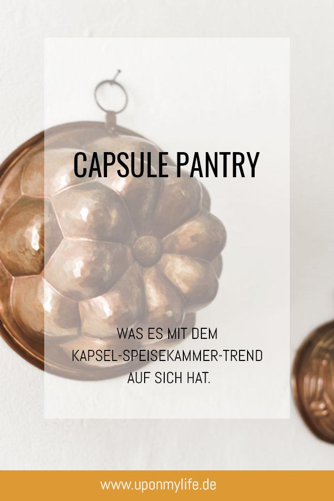 Capsule Pantry