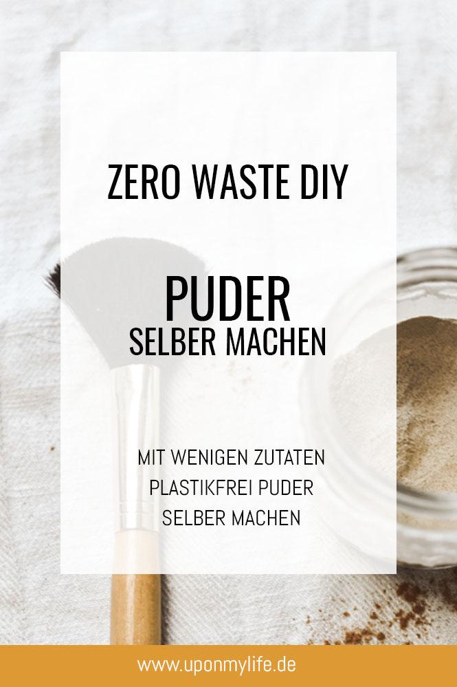 Zero Waste DIY Puder