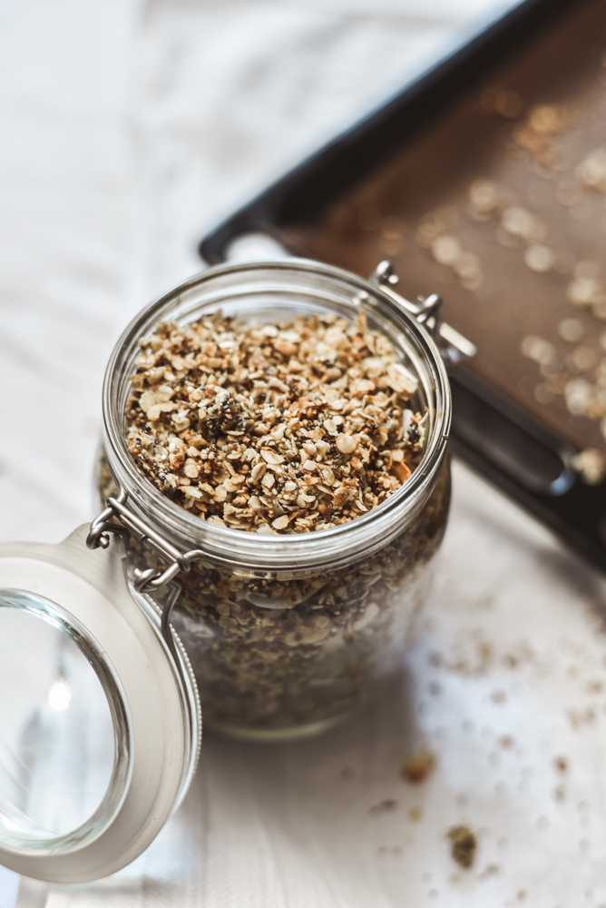 Rezept für Granola