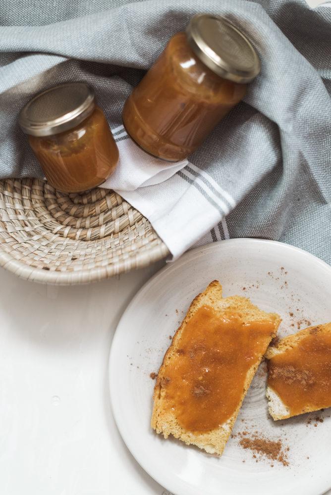 Herbst zum Fühstück - Kübis-Apfel-Marmelade selbermachen