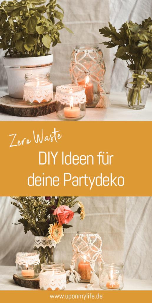 Die 7 schönsten DIY-Ideen für deine nachhaltige Partydeko