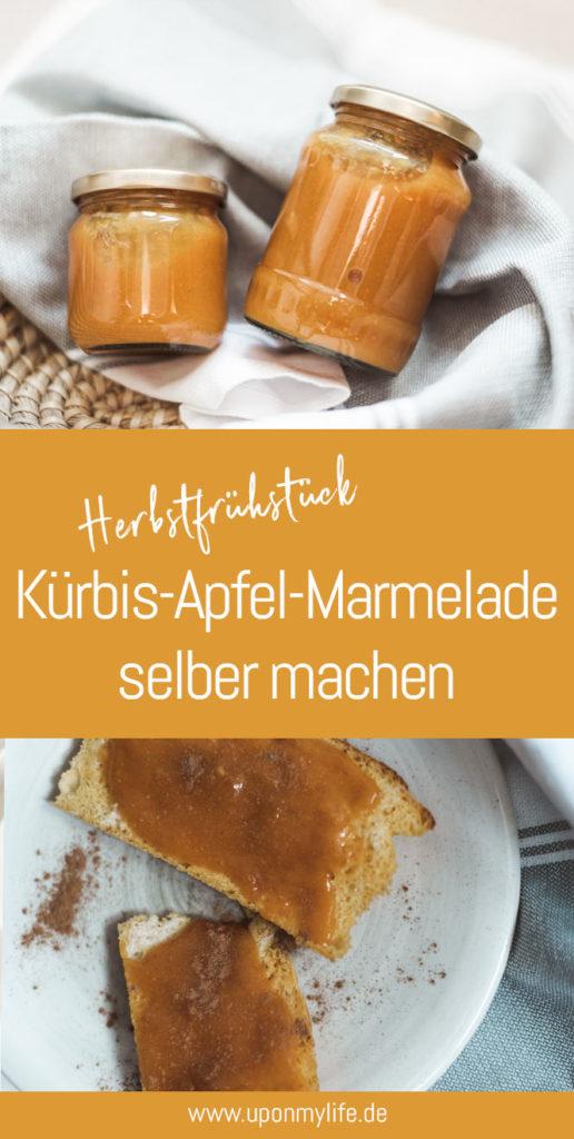 Herbst zum Frühstück - Kürbis-Apfel-Marmelade selbermachen