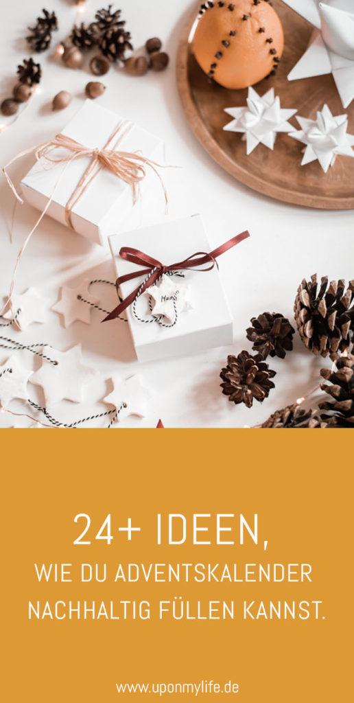 24 Ideen, wie du Adventskalender nachhaltig füllen kannst