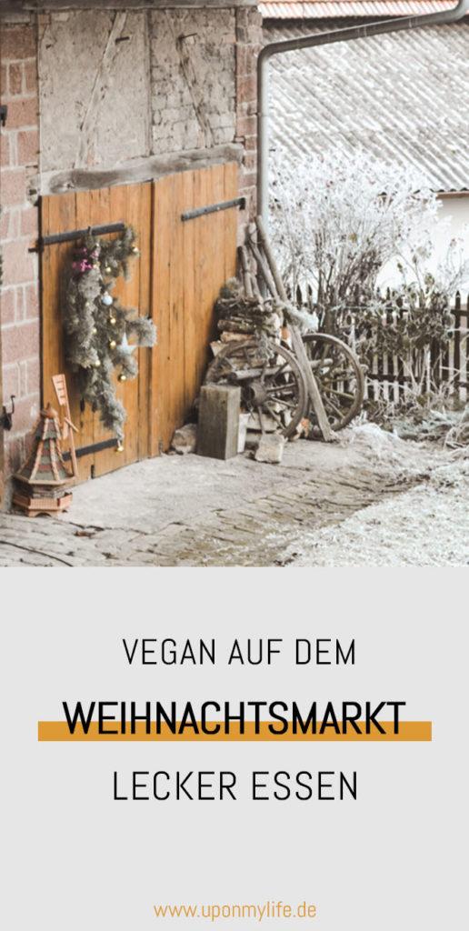 Vegan auf dem Weihnachtsmarkt