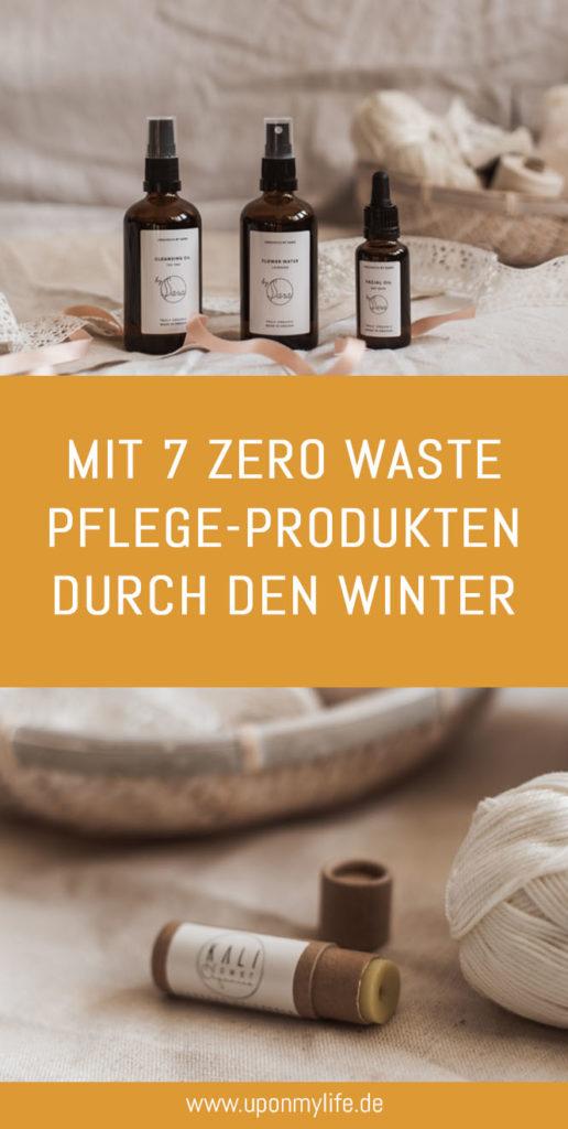 Nachhaltige Gesichtspflege im Winter ist für mich essentiell - ausgewählte nachhaltige Pflegeprodukte gegen rissige Liippen und trockene Haut zeige ich euch #zerowaste #nachhaltigkeit #pflege #winter