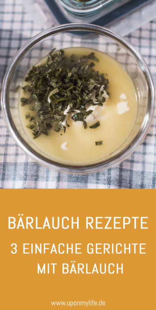 Bärlauch lässt sich vielfältig zu leckeren Gerichten verarbeiten. Ich zeige euch meine liebsten Bärlauch Rezepte: 3 einfache Gerichte mit Bärlauch #rezept #bärlauch #selbstversorger