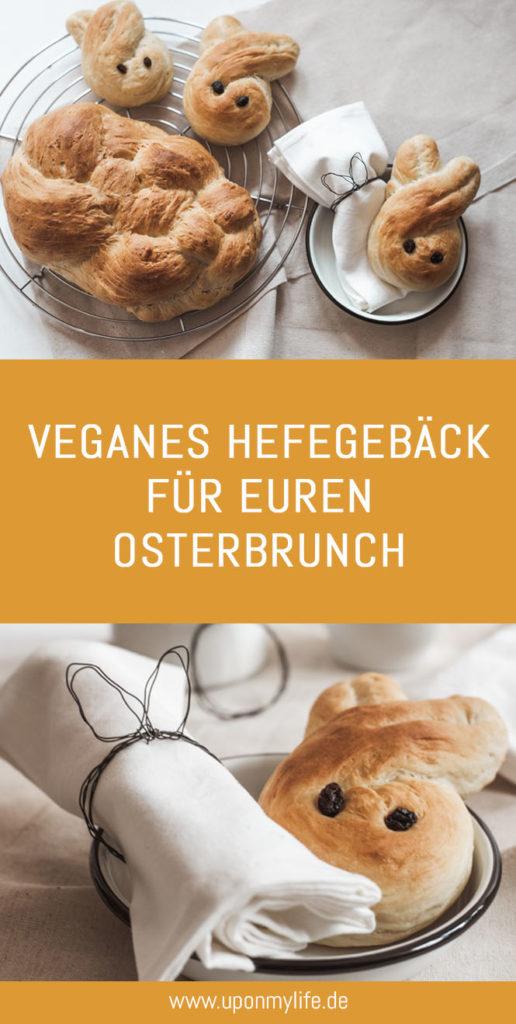 Veganes Hefezopf Gebäck schnell backen für euren Osterbrunch. Das einfache Hefezopf Gebäck Rezept gelingt jedem! Ostern wird ein wundervoller Feiertag! #ostern #frühling #hefezopf #vegan #backen