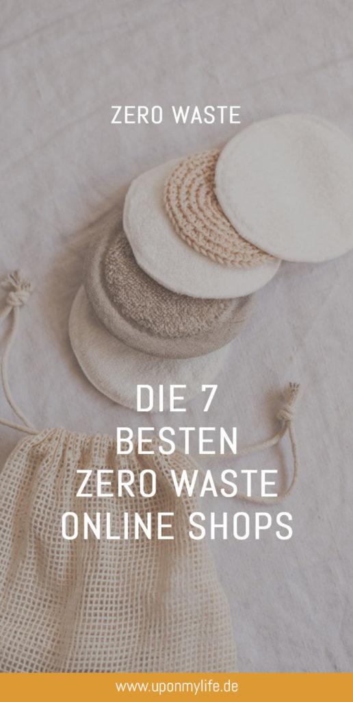 Die besten 7 Zero Waste Online Shops für euren nachhaltigen Alltag: Nachhaltig und Müllarm einkaufen - die besten Online Stores für Nachhaltigkeit #zerowaste #onlineshop #zerowasteonlineshop