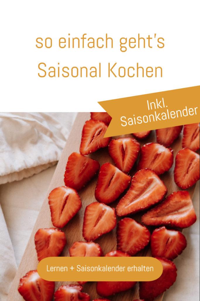 Warum Saisonal Kochen wichtig ist? Weil wir unser Klima schützen, unsere Gesundheit fördern und nachhaltiger Leben - so findet ihr saisonale Lebensmittel. #saisonal #saisonkalender #regional