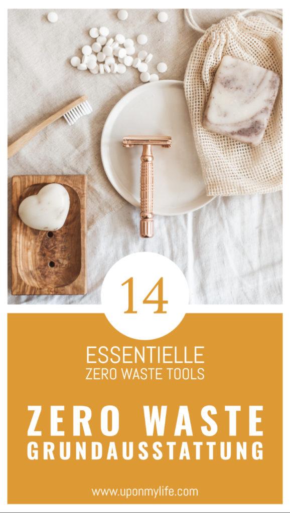 Ich stelle dir die wichtigsten 14 Tools für deine Zero Waste Grundausstattung vor, mit denen du perfekt in deinen Zero Waste Lifestyle starten kannst. #zerowaste #tools #nachhaltigkeit