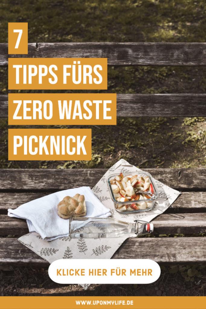 7 Zero Waste Picknick - Tipps! Damit gelingt euer nachhaltiges Picknick müllfrei und plastikfrei mit viel Spaß + einfache, vegane Rezept-Idee #zerowaste #picknick #vesper