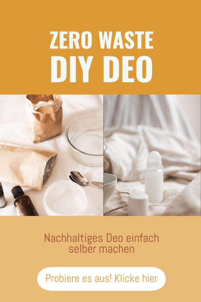 Zero Waste DIY: Deo selber machen ist kinderleicht. Ich zeige euch 3 einfache, nachhaltige Deo-Rezepte, die super funktionieren. Probiere sie aus! #diy #zerowaste #deo