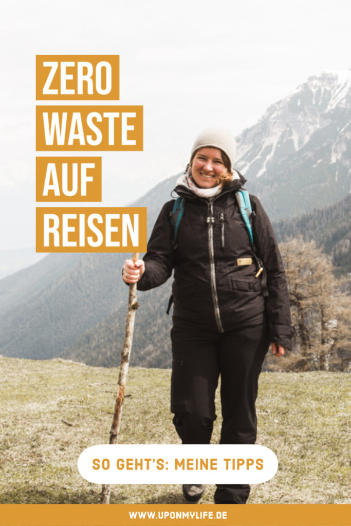 Mit ein paar wenigen Tricks und Tools ist Zero Waste Reisen sehr gut möglich. Meine Tipps dazu habe ich hier zusammengefasst. #zerowaste #reisen #nachhaltigkeit #urlaub