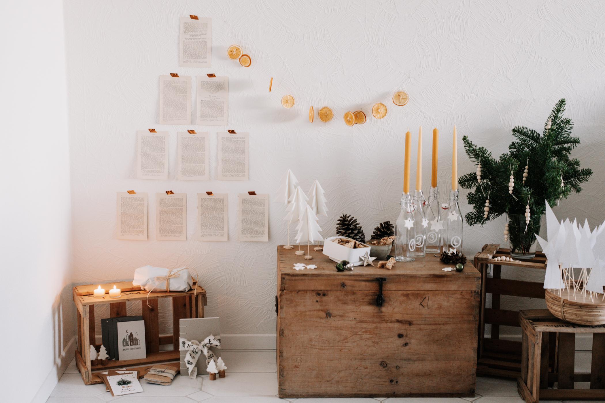 Mehr als 20 Ideen für die Adventszeit zu Hause voller Besinnlichkeit und Vorfreude auf Weihnachten. DIYs, Rezepte, Geschenke, Backideen, uvm