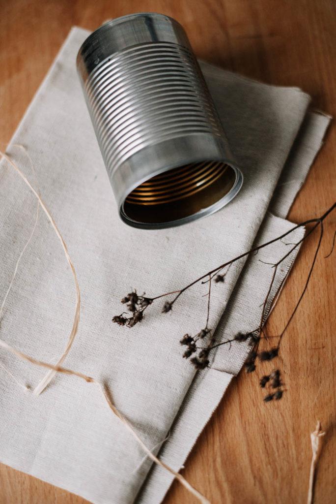 Dosen Upcycling - 3 geniale DIY Ideen die ihr aus Konservendosen selber machen könnt. Schön, Zero Waste und nachhaltig DIY Blechdosen upcyceln
