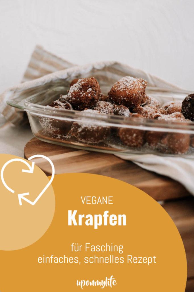 Vegane Krapfen: Einfaches Rezept für Fasching zum selber machen. Gelingsichere Anleitung für euer veganes Fasnachts-Rezept. Köstliche Krapfen