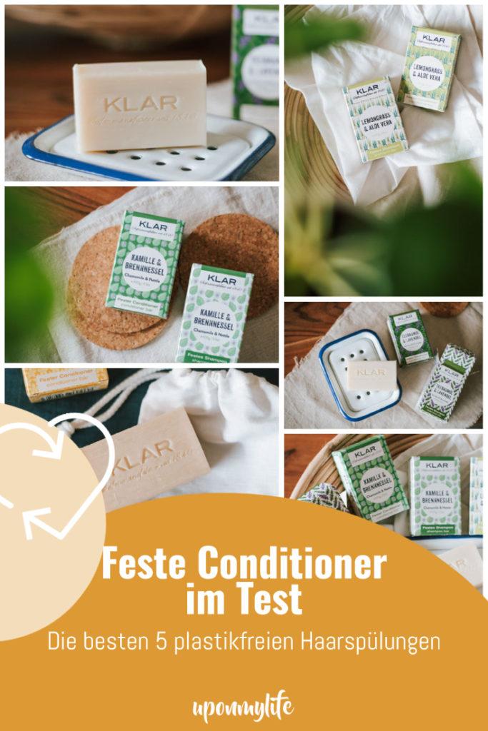 Feste Conditioner im Test: Ich teste 5 feste, plastikfreie Haarspülungen und zeige euch worauf ihr beim Kauf fester Conditioner achten müsst