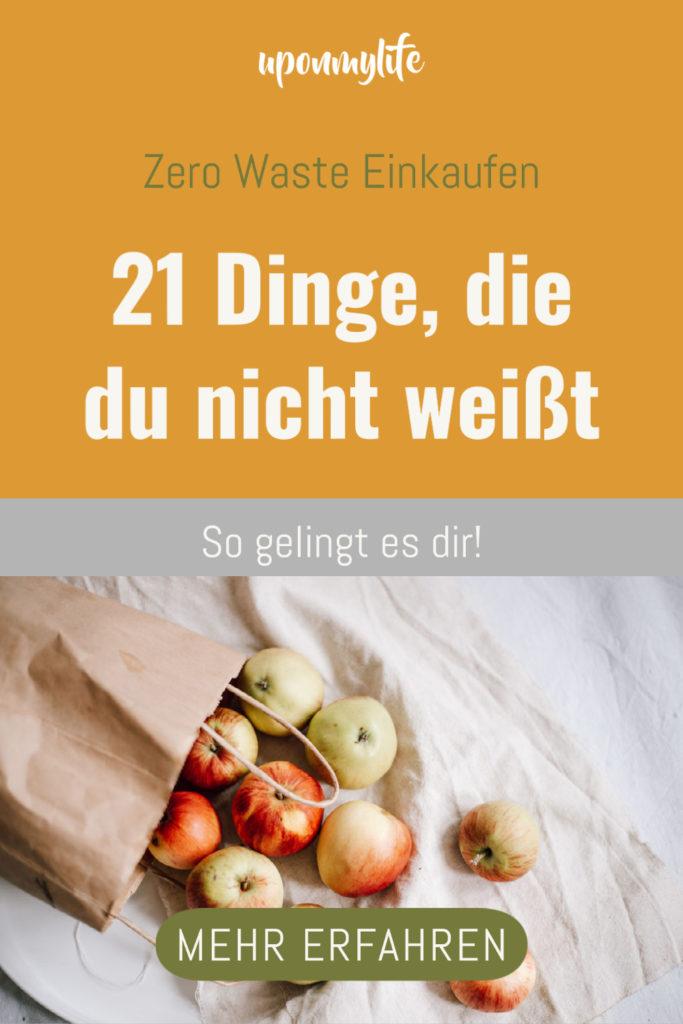 21 Dinge, die die meisten Menschen nicht über den Zero Waste Einkauf wissen: wichtige Fakten, nachhaltigen Tools & Helfer, Transport-Tipps